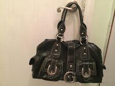 Guess Black Patten Handbag