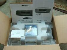 New Bose Wave Music System Iii Graphite Gray Never out of Box w Remote