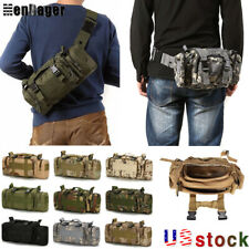 Outdoor Military Tactical Waist Bag Molle Camping Shoulder Chest Bag Fanny Pack