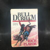 Vintage Sealed BULL DURHAM Tobacco Advertising Playing Cards