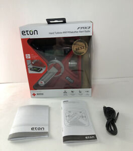 New Eton FRX3 Hand Turbine AM/FM NOAA Weather Alert Radio American Red Cross USB