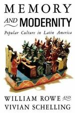 Memory and Modernity: Popular Culture in Latin America (Critical-ExLibrary