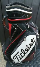 Titleist Black/Red/White Cart/Trolley Bag, No Raincover or Carry Strap