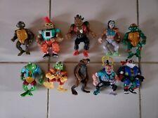 Vintage TMNT Teenage Mutant Ninja Turtles Lot Of Figures.(10)