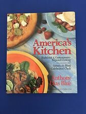 America's Kitchen : Traditional & Contemporary Regional Cooking Dias Blue SIGNED