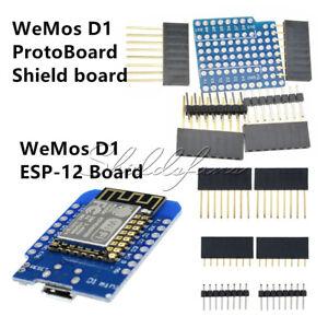 WeMos D1 NodeMcu Lua ESP8266 ESP-12F Mini WIFI CH340 Development Board Module