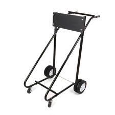 LEADALLWAY Boat Motor Stand Heavy Duty Pro Outboard Engine Carrier Cart Dolly Storage