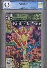 Fantastic Four #239 CGC 9.6 1982 Marvel Comics John Byrne Story, Cover & Art