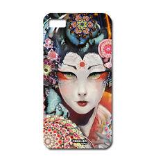 """CUSTODIA COVER CASE GEISHA TATTOO JAPAN PER CELLULARE SMARTPH iPHONE 6 PLUS 5.5"""""""
