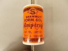 Shawmut (Ferraz) A6Y150 Amp-Trap Fuse 150 Amp 600 Volt Type 3