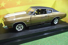 CHEVROLET CHEVELLE SS 454 Gold CRAGAR au 1/18 AMERICAN MUSCLE ERTL 36684 voiture