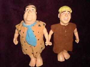 The Flintstones Plush & PVC Dakin Fred &  Barney
