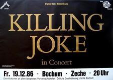 KILLING JOKE TOURPOSTER BRIGHTER THAN A THOUSAND SUNS TOUR 86 TOURPLAKAT POSTER