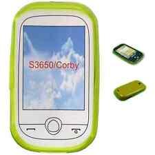 SAMSUNG S3650 CORBY - Housse Etui Anti Choc VERT