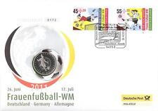 Bund Numisbrief (2011) Frauenfußball-WM Deutschland 2011