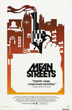 Mean Street Robert De Niro cult movie poster print #12