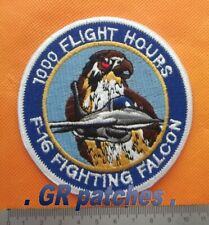 Greek F-16 Fighting Falcon 1000 Flight Hours Hellenic Air Force Patch Greece
