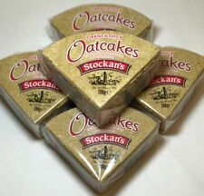 Orkney Thick Oat Cakes , Traditional Wholegrain Oatcakes 5 X 200g