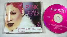 P!NK You make me sick CD Single Arista – 74321821402 Enhanced
