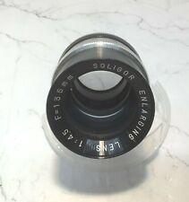 SOLIGOR Vintage  Enlarging Lens  F=1 3 5mm 1 :4.5 (NEW)