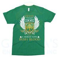T-Shirt Irish Women Ireland Woman Pride Worth Tee T Shirt Cool Gift Present