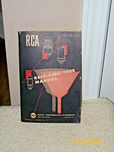 VINTAGE 1950 RCA RECEIVING TUBE MANUAL - TECHNICAL SERIES RC 16