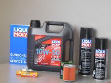 Sistema de mantenimiento APRILIA RSV 1000 MILLE Filtro aceite bujía Inspección