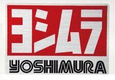 YOSHIMURA EXHAUST SILENCER LOGO BADGE STICKER HIGH TEMP RESISTANT RACING BIKE