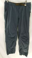 Outdoor Research Gray Outdoors Hiking Roll-Up Shorts Pants  L