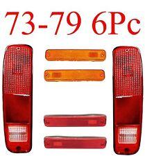 73 79 FORD Truck 78 79 Bronco 6PC Tail & Side Fender Light Kit & Econoline Van