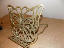 bible holder brass antique pulpit butterfly