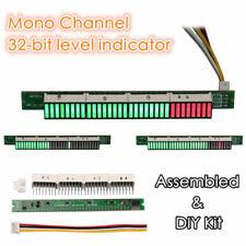 32bit Led Level Indicator Panel Vu Meter Mono Channel Sound Spectrum Display Diy