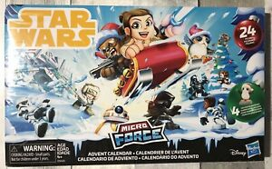 NEW SEALED Disney Star Wars Advent Calendar ~ Micro Force - Collectible Figures