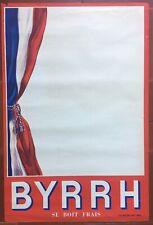 Poster Byrrh Se Boit Fresh Bar Pub 16 1/8x24in 50's