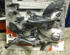 YAMAHA R1 04 05 06 VALTER MOTO T2.5 ADJUSTABLE REAR SETS FOOTPEGS REARSETS