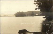Lake Cossayuna NY c1910 Real Photo Postcard