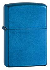Zippo Windproof Cerulean (blue) LIghter, # 24534, New In Box