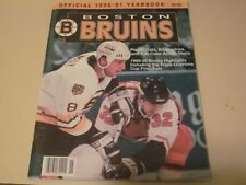 1990-91 Boston Bruins Yearbook Autographed By 38 Players-Hof-Stars-Rc-Dece ased