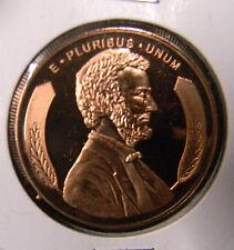 2012 - 1 oz. AVDP .999 Fine Copper Round W/Lincoln Obverse