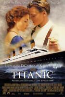 Titanic Movie POSTER 27 x 40 Kate Winslet, Leonardo DiCaprio, C
