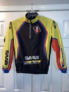 Mt Borah Saab/Salomon/Swix Team X-country Jacket Size Large L  pre-owned