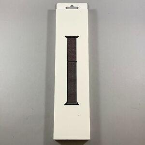 New In Box Apple Series 4 5 6 Watch Band Sport Loop 40mm Black
