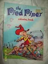 Vintage 1975 Waldman Pied Piper Coloring Book-Htf