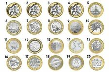 More details for 1986 - 2016 british £2 two pound brilliant uncirculated coin choice of year