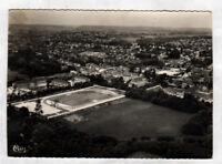 SAVIGNY-sur-ORGE (91) STADE de FOOTBALL & VILLAS en vue aérienne période 1950