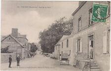 VOUTRE 53 RUE DE LA GARE 1912 HOTEL DE LA GARE GIBON CARTE ANIMEE