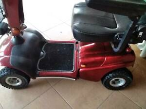 Disability Scooter in Red