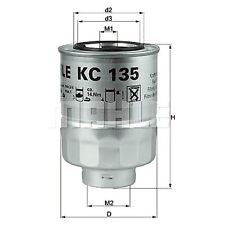 Spin-On Oil Fuel Filter - MAHLE KC 135D - Car - Fits Ford Ranger, Mazda B2500