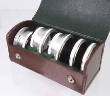 Rolleiflex Bajonett III Filterset im Etui