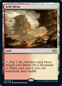 ARID MESA - MH2 Modern Horizons 2 - RARE Card # 244 - Magic the Gathering MtG